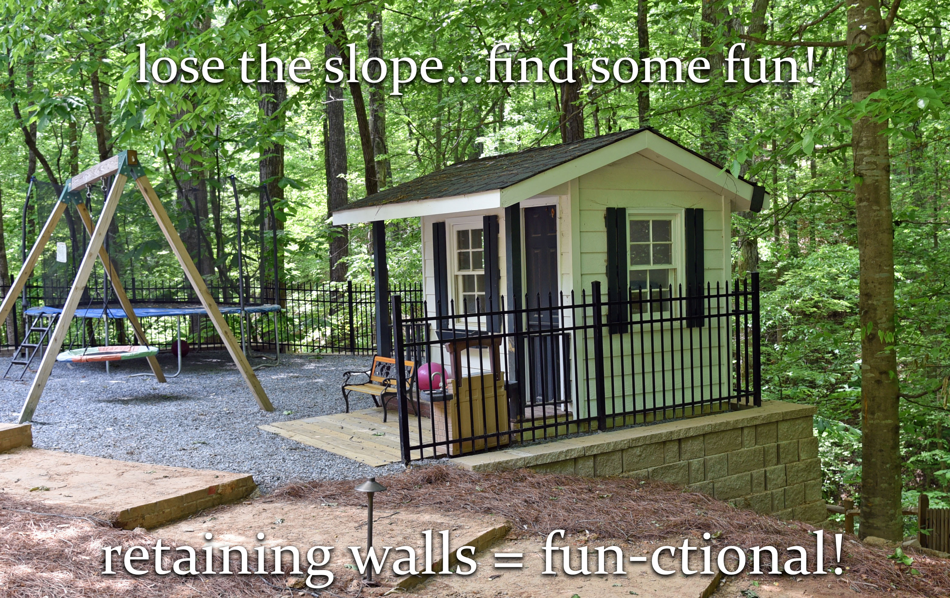 retaining wall builder canton ga