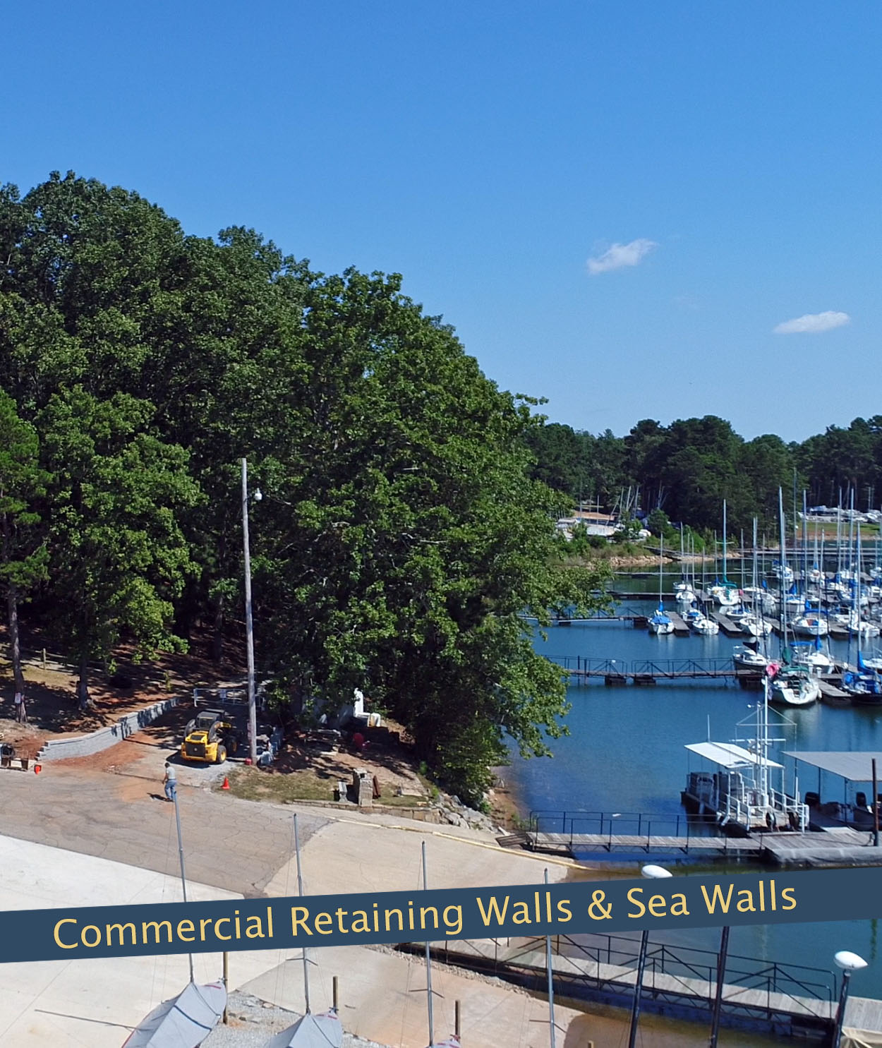 commercial retaining wall contractors